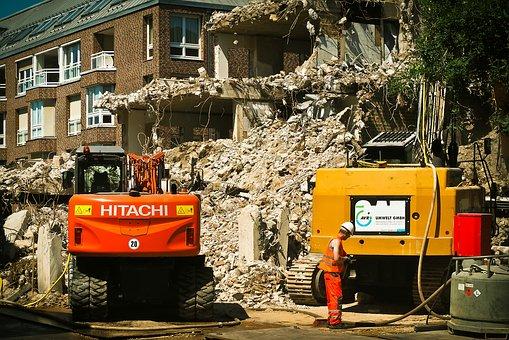 wywóz odpadów budowlanych